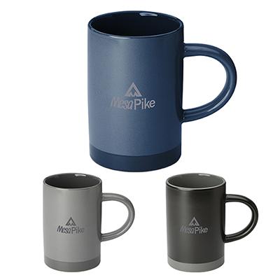 15 oz. lotus two tone ceramic mug