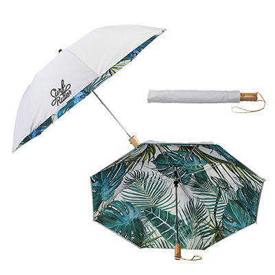 46 palm trees auto open folding umbrella