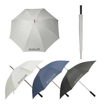 46 auto open aluminum honeycomb umbrella