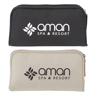 Cotton Travel Pouch