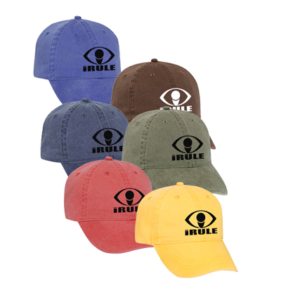 Washed Cotton Cap (Solid Colors)
