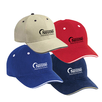 Superior Twill Sandwich Cap (Solid Colors)