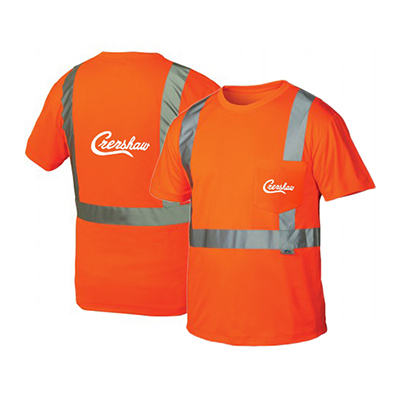 Hi Vis Orange Class 2 T Shirt