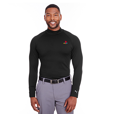 Puma Golf Men's Raglan Long Sleeve Baselayer