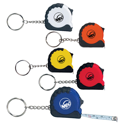 3.25 Ft. Mini Grip Tape Measure Key Chain