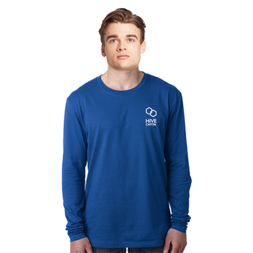 Next Level Men's Cotton Long Sleeve T-Shirt