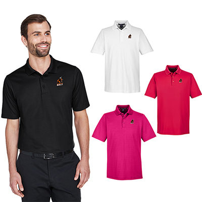 devon & jones crownlux performance™ mens plaited polo