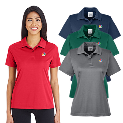 team 365 womens zone performance polo