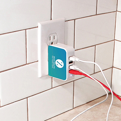 4corners™ usb wall charger