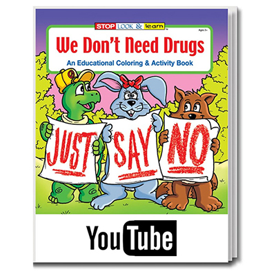 we don't need drugs coloring book