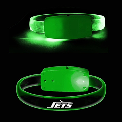gecko led bracelet - green