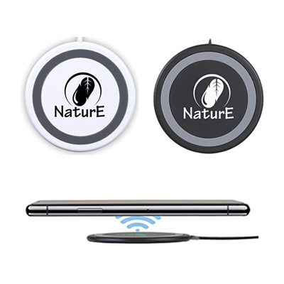 super slim & compact wireless cell phone charging pad