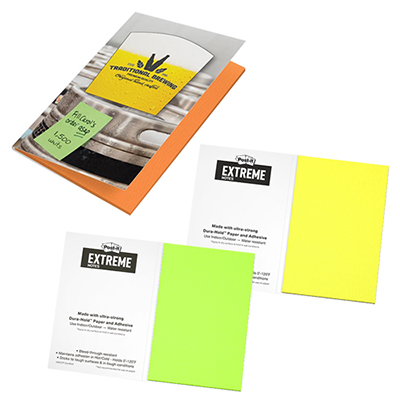 Post-it® Extreme XL Notes with Cover - 45 unprinted sheets