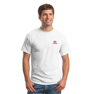 Promotional Hanes 50/50 T-Shirt - White