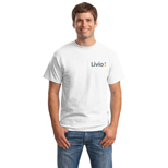 1895 - Hanes® 100% Beefy-T (White)