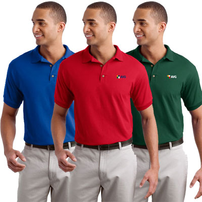 Gildan® Jersey Knit Sport Shirt (Colored)
