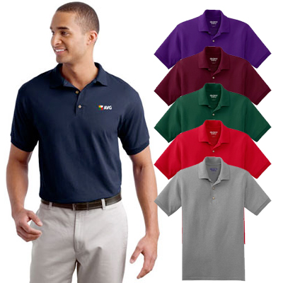 gildan® - dryblend® 6-ounce jersey knit sport shirt (colored)
