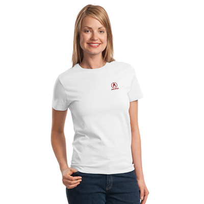 port & company  6.1 oz. t-shirt (white)