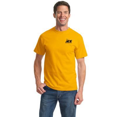 port & company colored t-shirt