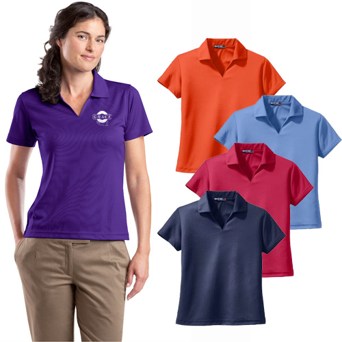 sport-tek dri mesh womens shirt