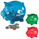 Customized Piggy Banks, Logo Piggy Banks