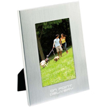 Custom Frames - Personalized Brushed Aluminum Frame