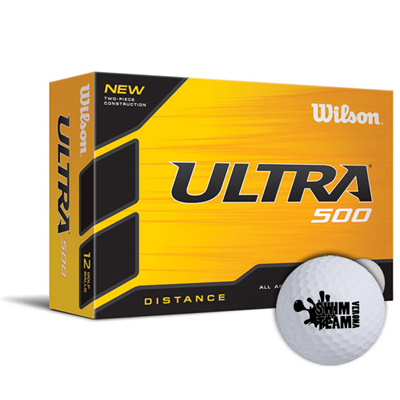 wilson® ultra 500 distance golf balls