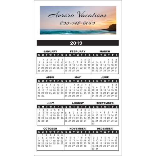 bic® calendar magnet