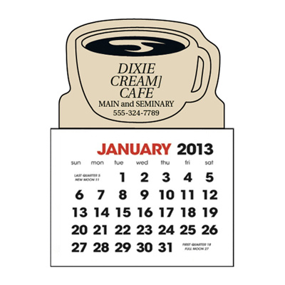 Stick-Up Calendars (Coffee Cup)
