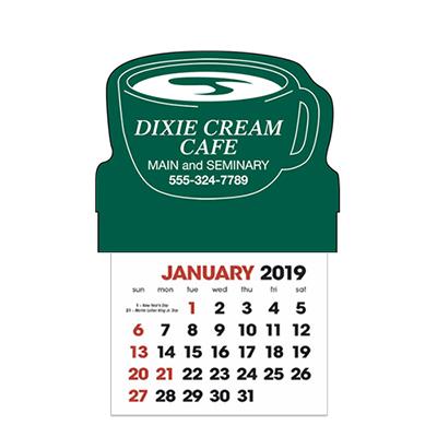 stick-up calendars (coffee cup)