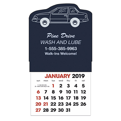 stick-up calendars (car)