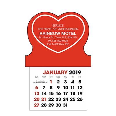 stick-up calendars (heart)