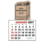 Custom Stick-Up Calendar Grocery Bag