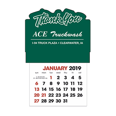 stick-up calendars (thank you)