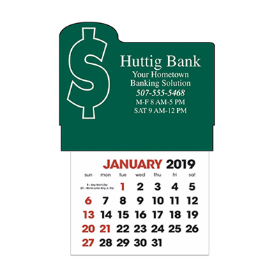 stick-up calendars (money)
