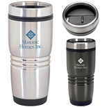 Custom Plastic Insulated Tumbler - Imprinted Insulated Tumbler with Lid