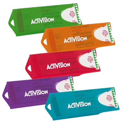 Colored Bandage Dispensers