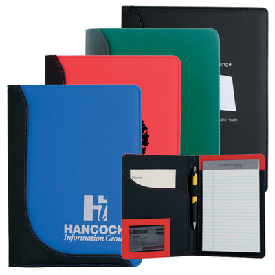 Jr. Executive L-Curve Pad Folio