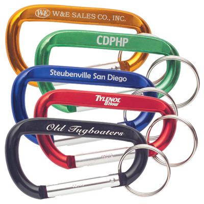 carabiner key ring