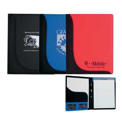 Executive L-Curve Pad Folio