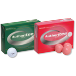 11407R - Authoritee Golf Balls