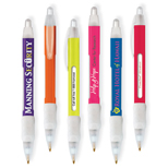 11463 - Bic® WideBody Message Pen Color
