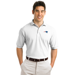 Logo Shirts - Stedman By Hanes Pique Knit Shirt, Personalized Golf Shirts