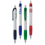 Promotional Nova Pens, Nova Metallic Silver Barrel Pen