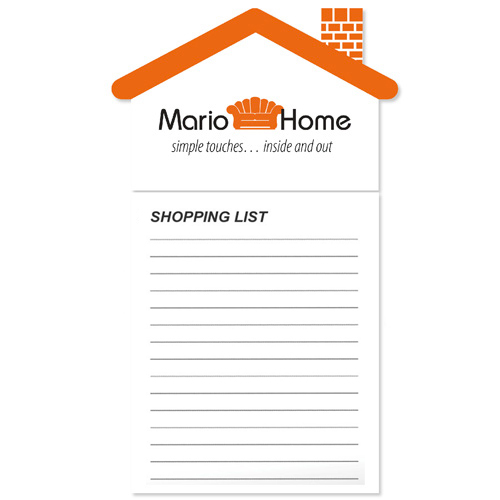 Bic ® House Magnet Notepad