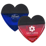 Promotional Magnetic Heart Clip Items, Promotional Paper Clips