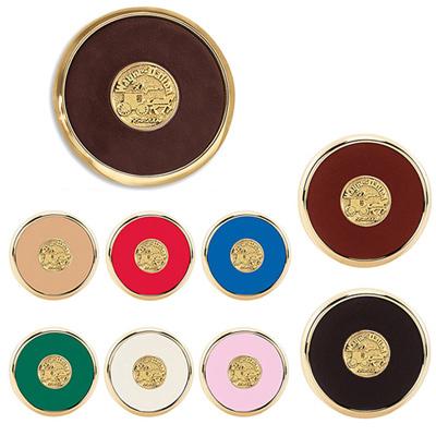 Round Brass Coaster