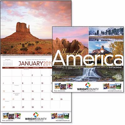 beautiful america calendar