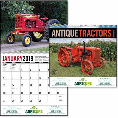 Antique Tractors Calendar
