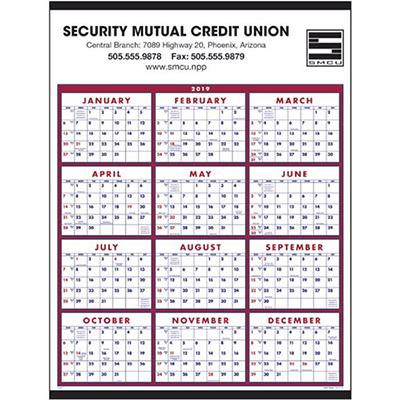 span-a-year calendar